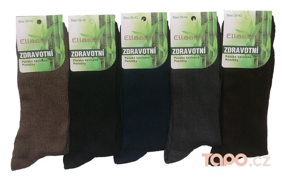 Ponožky s volným lemem Bambus - Tapo.cz 801d3a0047