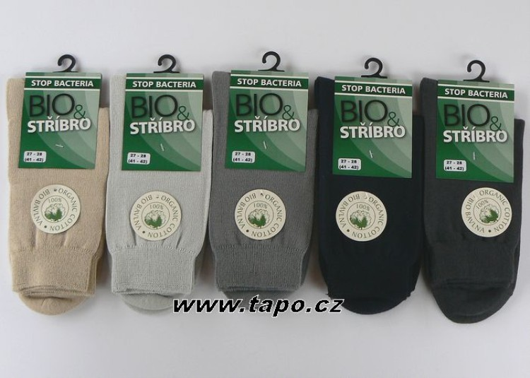 Ponožky BIO + STŘÍBRO dámské - Tapo.cz 1a8734dc9f