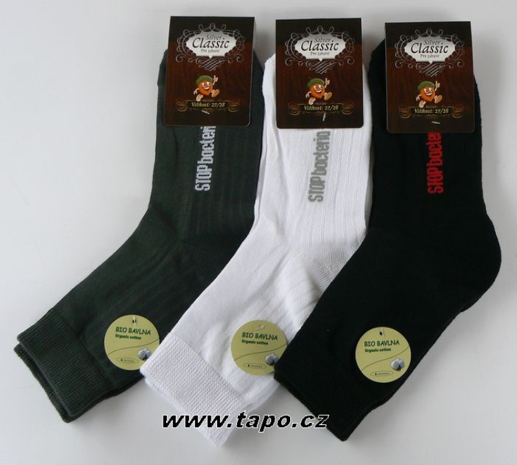 Ponožky Silver Classic pánské - Tapo.cz 468397392e